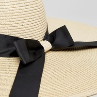 ASOS Floppy Straw Hat at asos.com