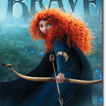 Brave – One Sheet Movie Poster 22x34 RP1489  UPC017681014899 Disney Pixar