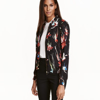 H&M Patterned Bomber Jacket $49.99