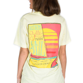 Raisin' Sail Tee by LAUREN JAMES {Yellow}