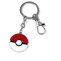 Pokemon Poke Ball Metal Key Chain Key Ring