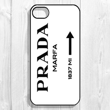 Gossip Girl, PRADA MARFA iPhone Case