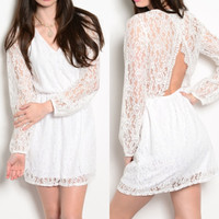 See You Again Lace Dress
