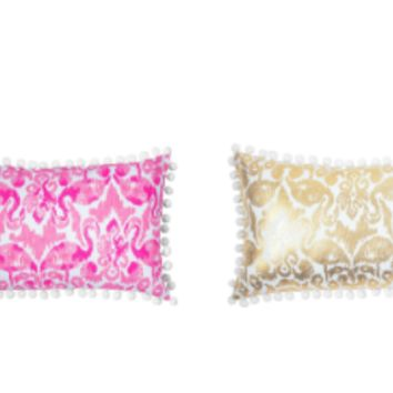 Lilly Pulitzer Medium Pillow, Beach Bathers