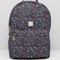 Jack Wills Bromsgrove Backpack in Navy Ditsy Floral