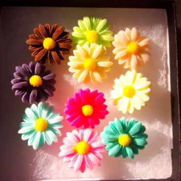 Pushpins Decorative Push Pins Daisy Flower Fancy Tacks