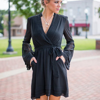 The Rapunzel Dress, Black