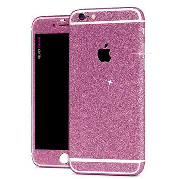 PINK GLITTER DECAL