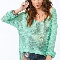 Camden Knit - Mint in  Clothes at Nasty Gal