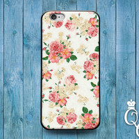 iPhone 4 4s 5 5s 5c 6 6s plus iPod Touch 4th 5th 6th Generation Gorgeous Vintage Pink Rose Artistic Flower Floral Cover Cute Custom Fun Case