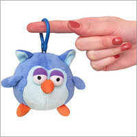 Micro Squishable Blue Owl: An Adorable Fuzzy Plush to Snurfle and Squeeze!