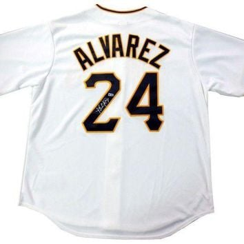 ESBONY Pedro Alvarez Signed Autographed Pittsburgh Pirates Baseball Jersey (MLB Authenticated)