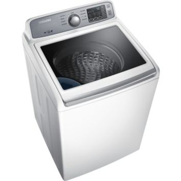 Samsung - 4.5 Cu. Ft. 9-Cycle High-Efficiency Top-Loading Washer - White