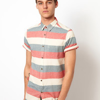 Brave Soul Striped Shirt