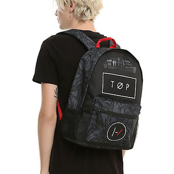 Twenty One Pilots Black Backpack