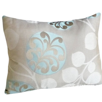 Small Decorative Throw Pillows Tan and by PillowThrowDecor