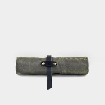 Waxed Canvas Roll-Up