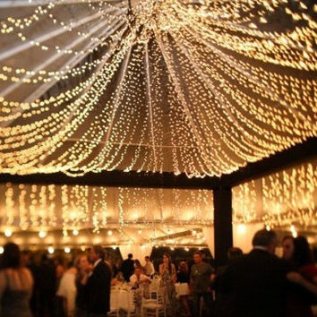 32 feet 100LED String Fairy Lights Wedding Garden Party Xmas Light, White, Blue, Green, Red Linkable