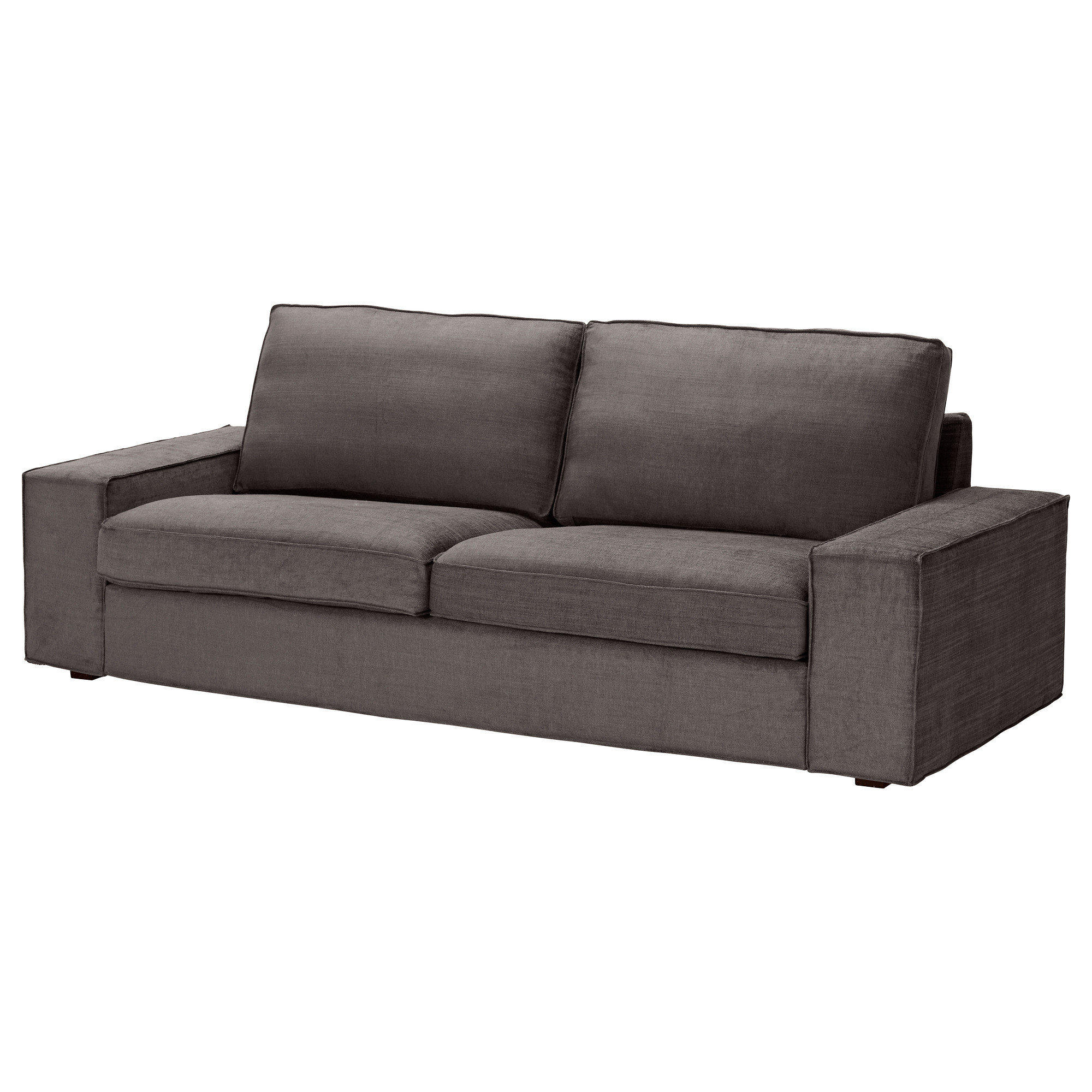 kivik sofa tullinge gray brown ikea from ikea. Black Bedroom Furniture Sets. Home Design Ideas