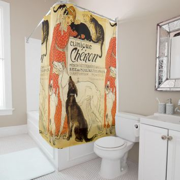 Designer Shower Curtains - Veterinarian Bath Gifts Shower Curtain