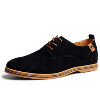 Casual shoes leather suede flats