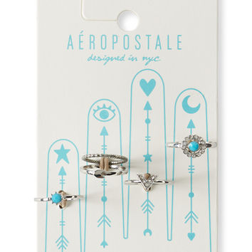 Aeropostale  Chevron Ring 5-Pack