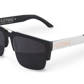 Interceptor Sunglasses: BLACK/SILVER