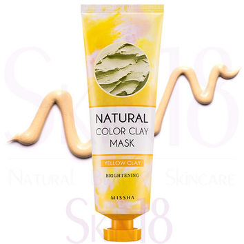 Missha Natural Color Yellow Clay Mask (Brightening)