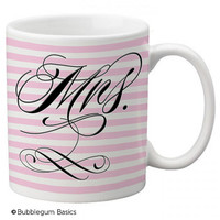 CUSTOM coffee Mug Cup Kitchen or Home Wedding MR and MRS bride Groom newlyweds gift Any Colors, Saying or Monogram Personalized
