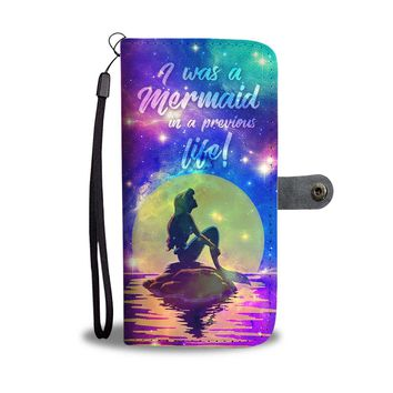 KUYOU The Little Mermaid I Was A Mermaid Wallet Phone Case