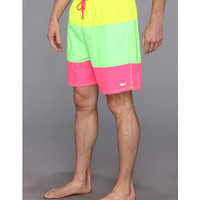 Vineyard Vines Pieced Neon Bungalow Short Yellow - Zappos.com Free Shipping BOTH Ways