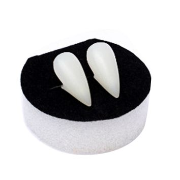 Decoration Vampire Dentures Fangs With Case (17mm)