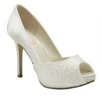 Fancy Wedding Shoes - Pink By Paradox