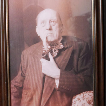Aleister Crowley | Framed Photographic Reprint | Magick
