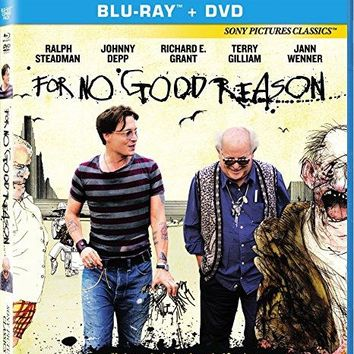Terry Gilliam & Johnny Depp & Charlie Paul-For No Good Reason