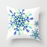 Winter Wonderlove Throw Pillow by Whitney Werner