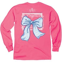 Lily Grace Long Sleeve Tee- Classy is Forever Bow