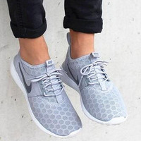 """Nike"" Fashion Women Sport Shoes Casual Sneakers honeycomb grey"