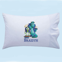 Personalized Monsters Inc Custom Pillowcase
