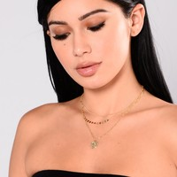 Maria Layered Necklace - Gold