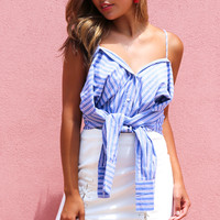 KIMORA STRIPED TOP