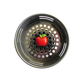 Sink Strainer, Apple Decor Apple Item, Teacher Gift, Apple Kitchen, Fall Decor, Fruit Decor, Apple Decoration, Red Apples, Country Apples