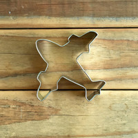 Airplane Cookie Cutter 4""