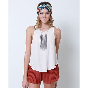 Something Fun Sleeveless Top - Pink