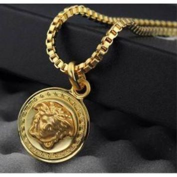 Versace 18K Gold Necklace