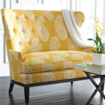 Paisley Settee - Horchow