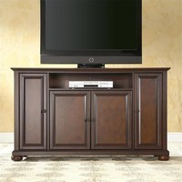 Vintage Mahogany 60-inch TV Stand Entertainment Center