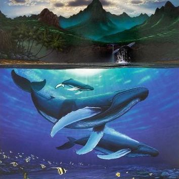 Dawn of Creation - Limited Edition Lithograph on Paper by Wyland