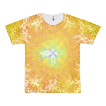 Flowering Explosion of Enlightenment || Short sleeve men's t-shirt (unisex) — Future Life Fashion