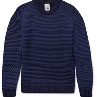 S.N.S. Herning - Terminal Basketweave Virgin and Merino Wool-Blend Sweater